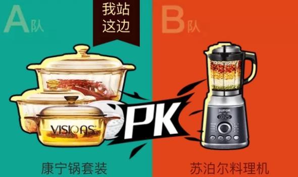 平安信用卡拼搏吧我的团第二轮选什么:康宁锅还是料理机插图